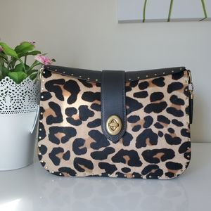 Coach Page 27 with Leopard print
